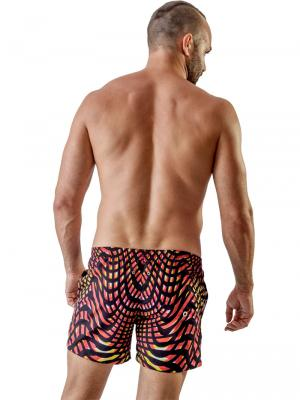 Geronimo Swim Shorts, Item number: 1707p1 Red Swim Short, Color: Red, photo 4