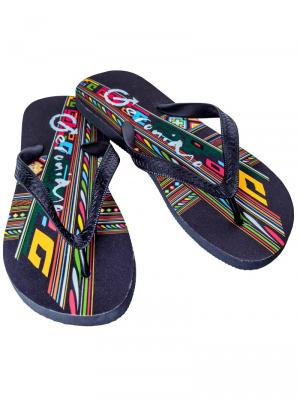 Geronimo Flip Flops, Item number: 1711f1 Flip Flop for Men, Color: Multi, photo 1