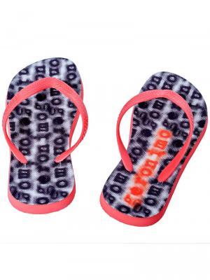 Geronimo Flip Flops, Item number: 1709f1 Black Red Flip Flop, Color: Red, photo 4