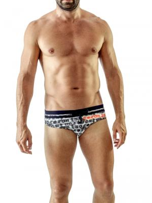 Geronimo Briefs, Item number: 1709s2 Black Swim Brief, Color: Black, photo 2