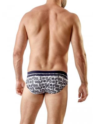 Geronimo Briefs, Item number: 1709s2 Black Swim Brief, Color: Black, photo 5