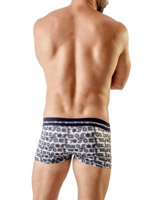 Geronimo Boxers, Item number: 1709b1 Black Swim Trunk, Color: Black, photo 5