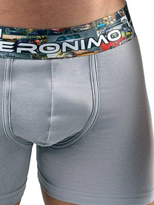 Geronimo Boxers, Item number: 17531b1 Grey Boxer Brief, Color: Grey, photo 3