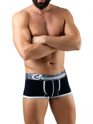 Geronimo Boxers, Item number: 1751b1 Black Boxer Trunk, Color: Black, photo 2