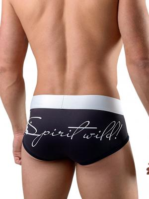 Geronimo Briefs, Item number: 1756s2 Black Brief for Men, Color: Black, photo 4