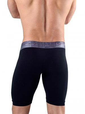 Geronimo Boxers, Item number: 1761b9 Black Long Leg Boxer, Color: Black, photo 3