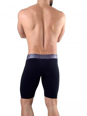 Geronimo Boxers, Item number: 1761b9 Black Long Leg Boxer, Color: Black, photo 4