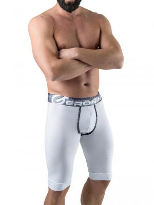 Geronimo Boxers, Item number: 1761b9 White Long Leg Boxer, Color: White, photo 2