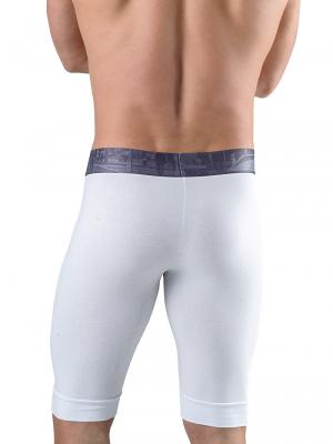 Geronimo Boxers, Item number: 1761b9 White Long Leg Boxer, Color: White, photo 3