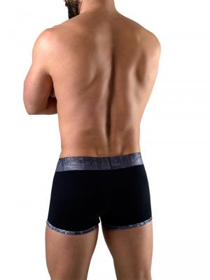 Geronimo Boxers, Item number: 1761b1 Black Boxer for Men, Color: Black, photo 4