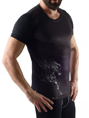Geronimo T shirt, Item number: 1758t3 Black Men's T-shirt, Color: Black, photo 3