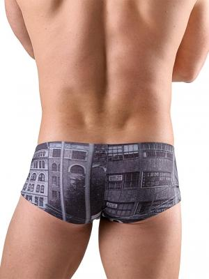 Geronimo Boxers, Item number: 1761b3 Old City Trunk, Color: Grey, photo 3