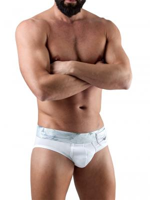 Geronimo Briefs, Item number: 1764s2 White Pocket Brief, Color: White, photo 2