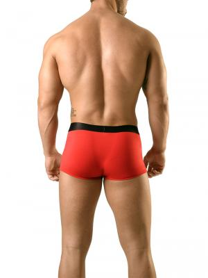 Geronimo Fetish, Item number: 1841b3 Red Fetish Zip Boxer, Color: Red, photo 5