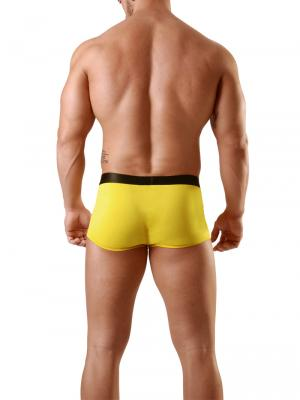 Geronimo Boxers, Item number: 1841b3 Yellow Fetish Boxer, Color: Yellow, photo 5