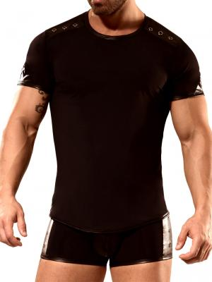 Geronimo Fetish, Item number: 1840t25 Black T-shirt For Men, Color: Black, photo 1