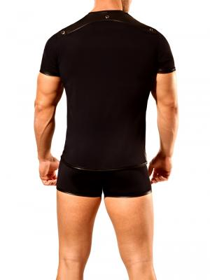 Geronimo Fetish, Item number: 1840t25 Black T-shirt For Men, Color: Black, photo 5