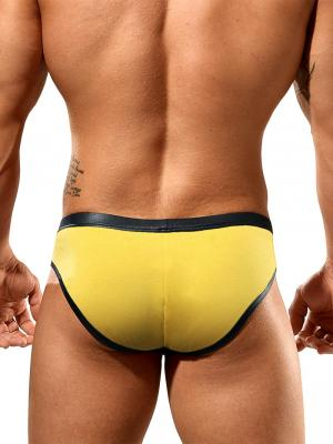 Geronimo Fetish, Item number: 1841s2 Yellow Reveal Brief, Color: Yellow, photo 4