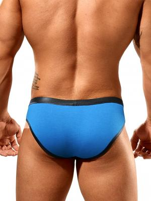 Geronimo Fetish, Item number: 1841s2 Blue Reveal Brief, Color: Blue, photo 4