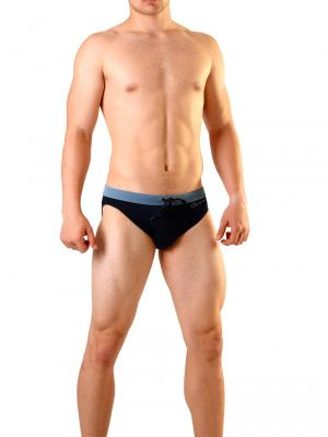 Geronimo Briefs, Item number: 1819s1 Black Swimming Brief , Color: Black, photo 2