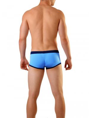 Geronimo Square Shorts, Item number: 1819b2 Light Blue Men's Hipster, Color: Blue, photo 5