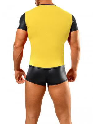 Geronimo Fetish, Item number: 1841t7 Yellow Fetish T-shirt, Color: Yellow, photo 5