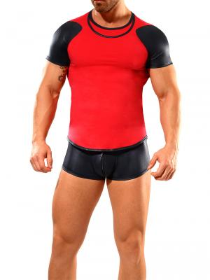 Geronimo Fetish, Item number: 1841t7 Red Fetish T-shirt, Color: Red, photo 2