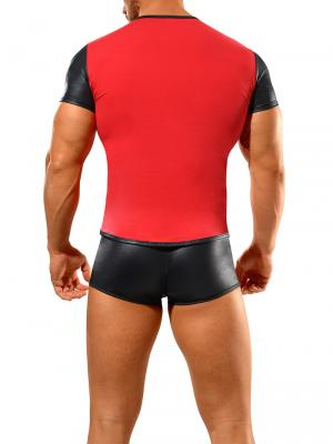 Geronimo Fetish, Item number: 1841t7 Red Fetish T-shirt, Color: Red, photo 5