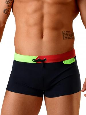 Geronimo Boxers, Item number: 1820b1 Black Swim Trunk, Color: Black, photo 1