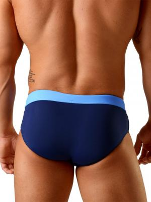 Geronimo Briefs, Item number: 1820s2 Dark Blue Swim Brief, Color: Blue, photo 4