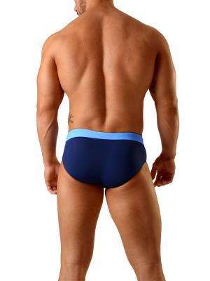 Geronimo Briefs, Item number: 1820s2 Dark Blue Swim Brief, Color: Blue, photo 5