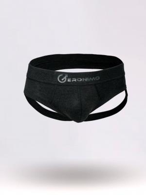 Geronimo Jockstraps, Item number: 1861s9 Grey Jock strap, Color: Grey, photo 1