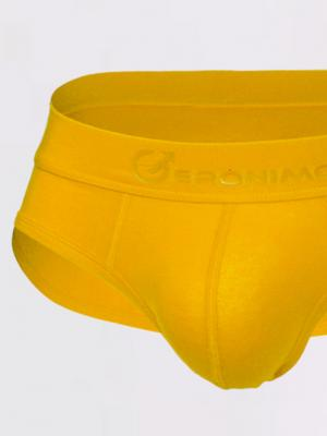 Geronimo Briefs, Item number: 1861s2 Yellow Brief for Men, Color: Yellow, photo 2