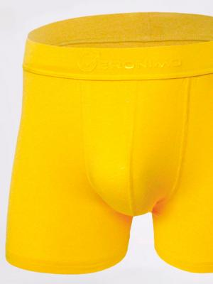 Geronimo Boxers, Item number: 1861b7 Yellow Boxer for Men, Color: Yellow, photo 2