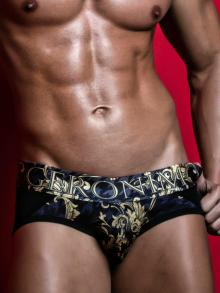 Briefs, Geronimo, Item number: 1854s2 Black Brief for Men