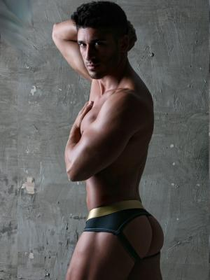 Geronimo Jockstraps, Item number: 1852s9 Black Jockstrap, Color: Black, photo 2