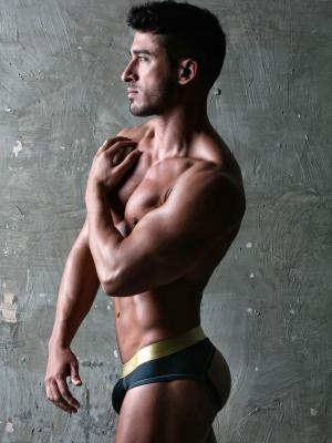Geronimo Jockstraps, Item number: 1852s9 Black Jockstrap, Color: Black, photo 4