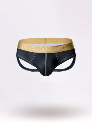 Geronimo Jockstraps, Item number: 1852s9 Black Jockstrap, Color: Black, photo 5