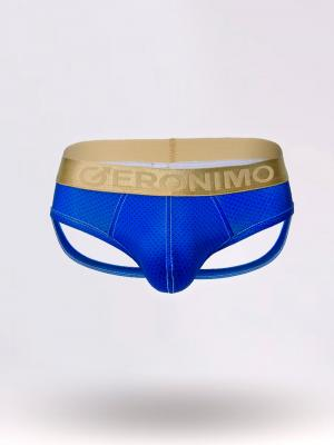 Geronimo Jockstraps, Item number: 1852s9 Blue Jockstrap, Color: Blue, photo 1