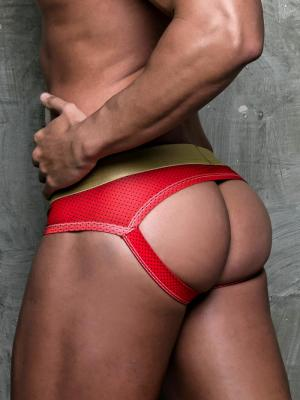 Geronimo Jockstraps, Item number: 1852s9 Red Jockstraps, Color: Red, photo 1