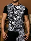 Geronimo, 1855t3 Tribal Black T-shirt