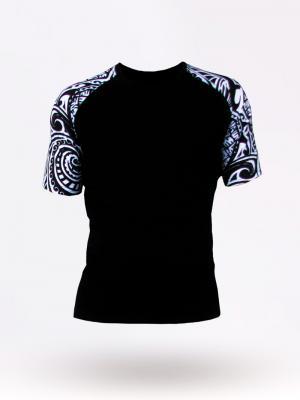 Geronimo T shirt, Item number: 1855t3 Tribal Black T-shirt, Color: Black, photo 4