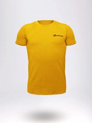 Geronimo T shirt, Item number: 1860t3 Yellow Men's T-shirt, Color: Yellow, photo 1