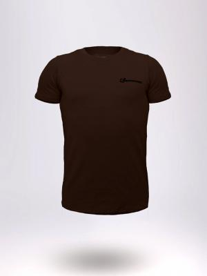 Geronimo T shirt, Item number: 1860t3 Brown T-shirt for Men, Color: Brown, photo 1
