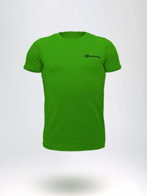 Geronimo T shirt, Item number: 1860t3 Green Men's T-shirt, Color: Green, photo 1