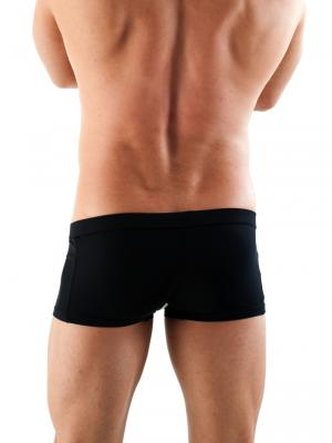 Geronimo Boxers, Item number: 1351BV Black Zip Boxer, Color: Black, photo 5