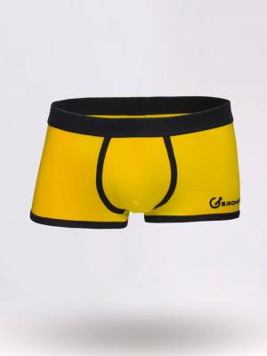 Geronimo Boxers, Item number: 1860b1 Yellow Boxers for Men, Color: Yellow, photo 1
