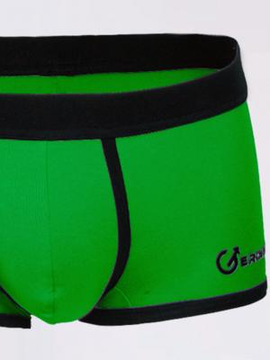 Geronimo Boxers, Item number: 1860b1 Green Boxer Trunk, Color: Green, photo 2