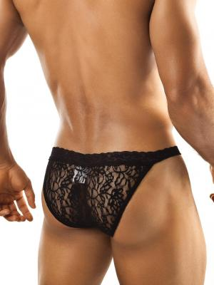 Joe Snyder Briefs, Item number: JSL 01 Black Bikini Lace for Men, Color: Black, photo 3