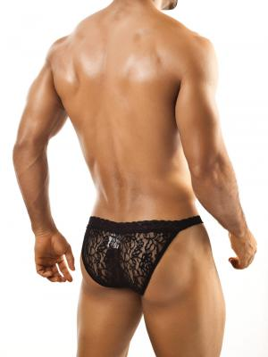 Joe Snyder Briefs, Item number: JSL 01 Black Bikini Lace for Men, Color: Black, photo 4